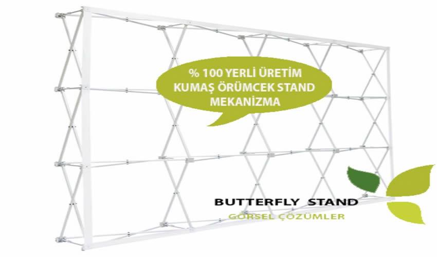 Butterfly Stand Görsel Çözümler