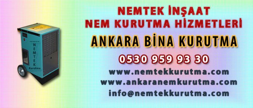 Ankara Bina Kurutma