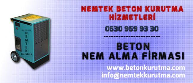 Beton Nem Alma Firması