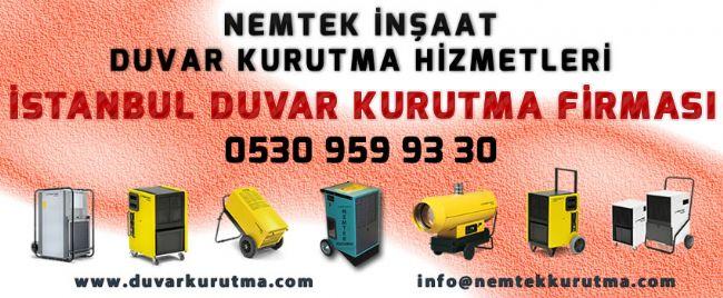 İstanbul Duvar Kurutma Firması