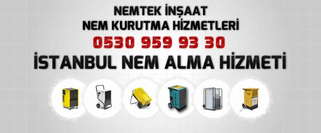 İstanbul Nem Alma Hizmeti