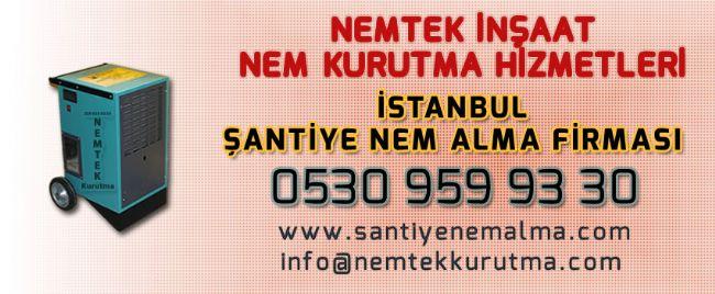 İstanbul Şantiye Nem Alma Firması