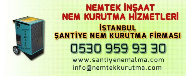 İstanbul Şantiye Nem Kurutma Firması