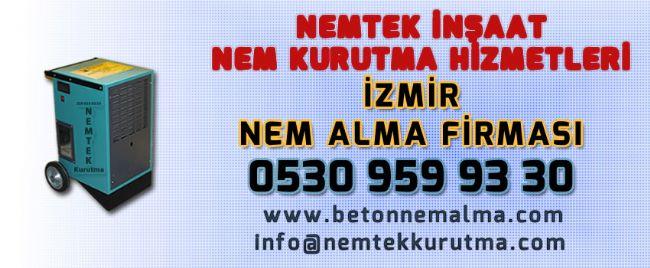 İzmir Nem Alma Firması