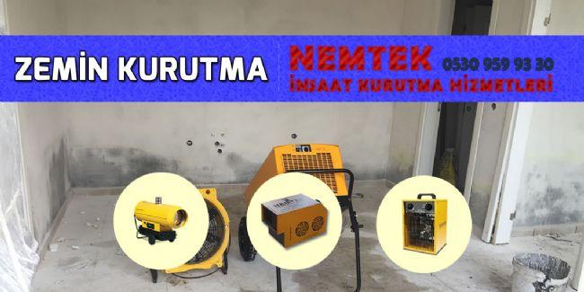 Zemin Kurutma
